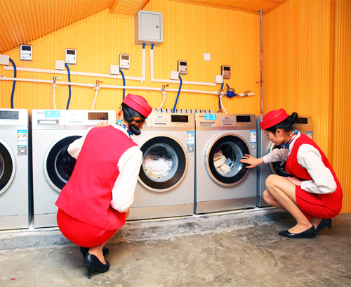 西安轨道交通技师学院洗衣房
